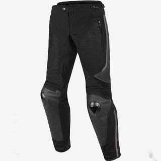 DAINESE MIG LEATHER-TEX PANTS - BLACK