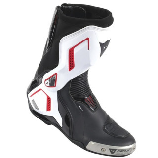 DAINESE TORQUE D1 OUT AIR BOOTS- BLACK WHITE LAVA RED
