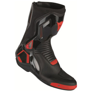 STIVALI DAINESE COURSE D1 OUT BOOTS - BLACK FLUO RED