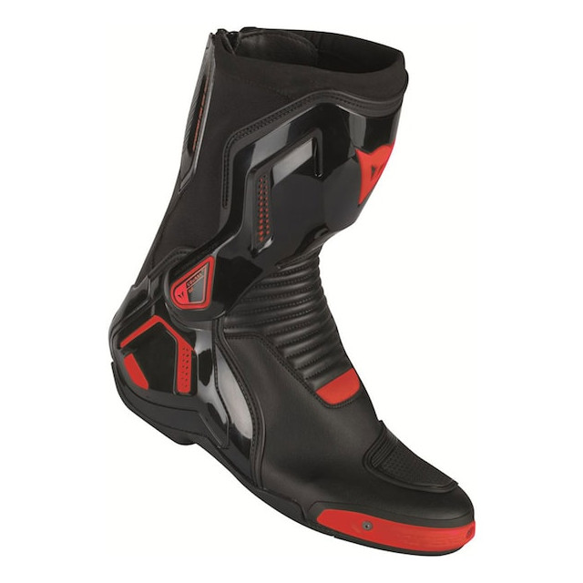 DAINESE COURSE D1 OUT BOOTS - BLACK FLUO RED
