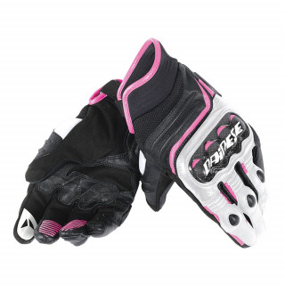 DAINESE CARBON D1 SHORT LADY GLOVES - FUCHSIA