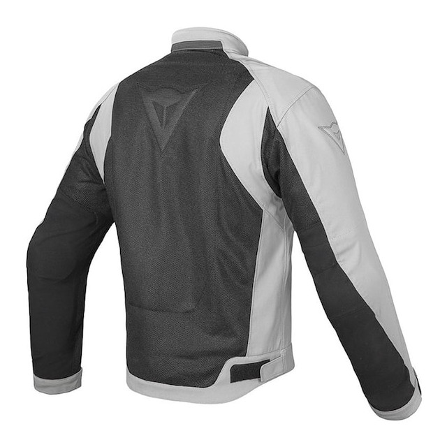 GIACCA DAINESE AIR FLUX D1 TEX JACKET BLACK HIGH RISE - SCHIENA