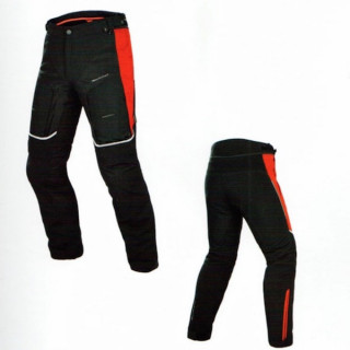PANTALONI DAINESE D-EXPLORER GORE-TEX - BLACK-RED