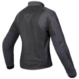 GIACCA DAINESE AIR FLUX D1 LADY TEX JACKET BLACK - SCHIENA