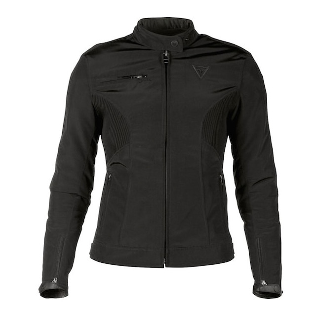 GIACCA DAINESE ALICE LADY TEX JACKET - BLACK