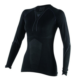 MAGLIA DAINESE D-CORE DRY TEE LS LADY - BLACK ANTHRACITE