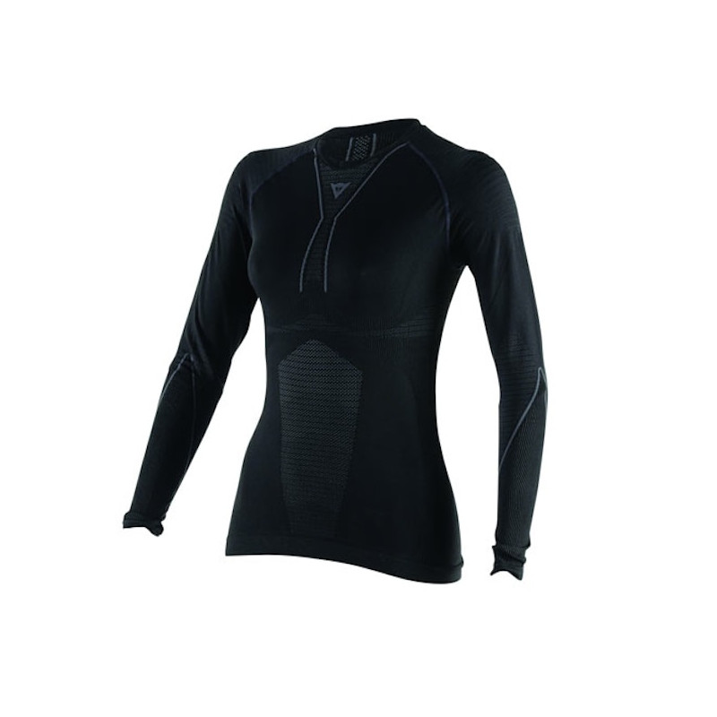 MAGLIA DAINESE D-CORE DRY TEE LS LADY- BLACK ANTHRACITE