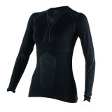DAINESE D-CORE DRY TEE LS LADY- BLACK ANTHRACITE