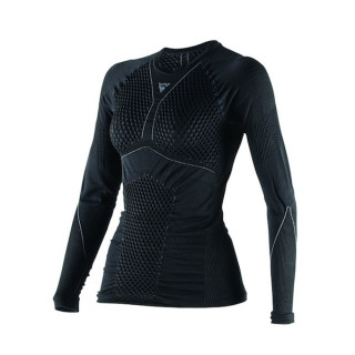 DAINESE D-CORE THERMO TEE LS LADY - BLACK ANTHRACITE