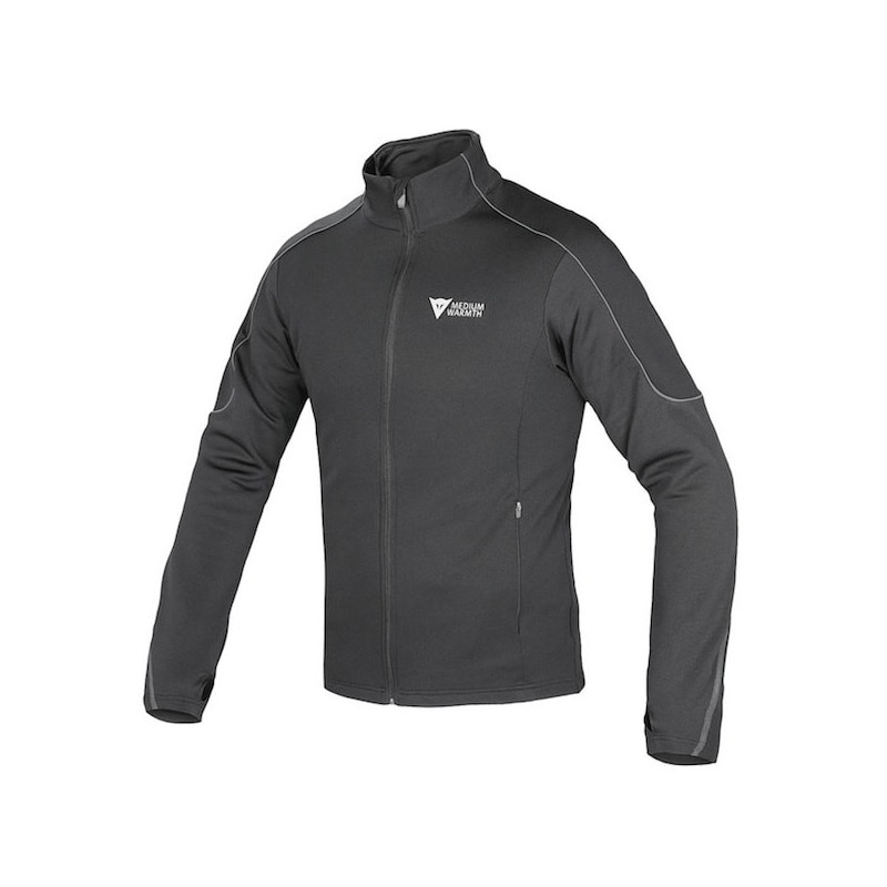 DAINESE D-MANTLE FLEECE - BLACK ANTHRACITE