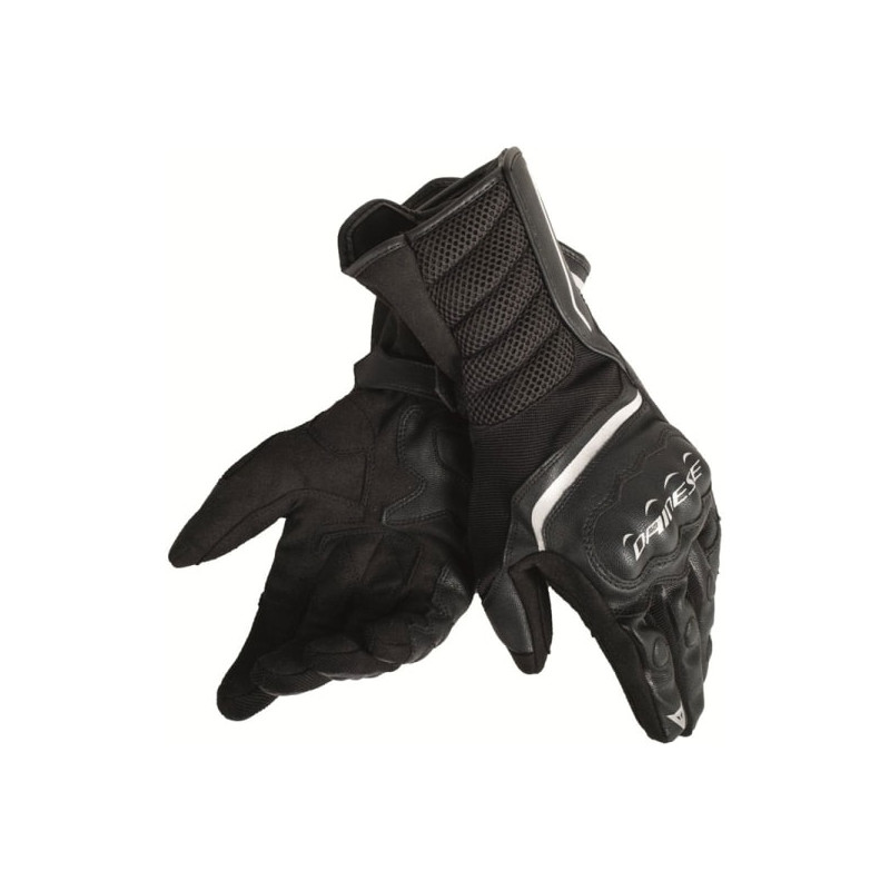 DAINESE AIR FAST UNISEX GLOVES - BLACK WHITE