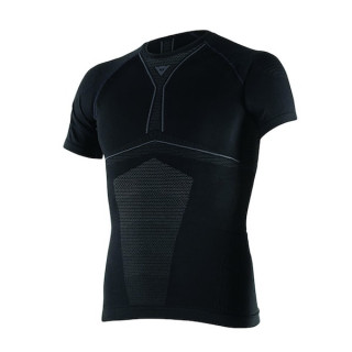 MAGLIA DAINESE D-CORE DRY TEE SS- BLACK ANTHRACITE