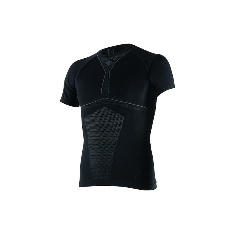 DAINESE D-CORE DRY TEE SS - BLACK ANTHRACITE