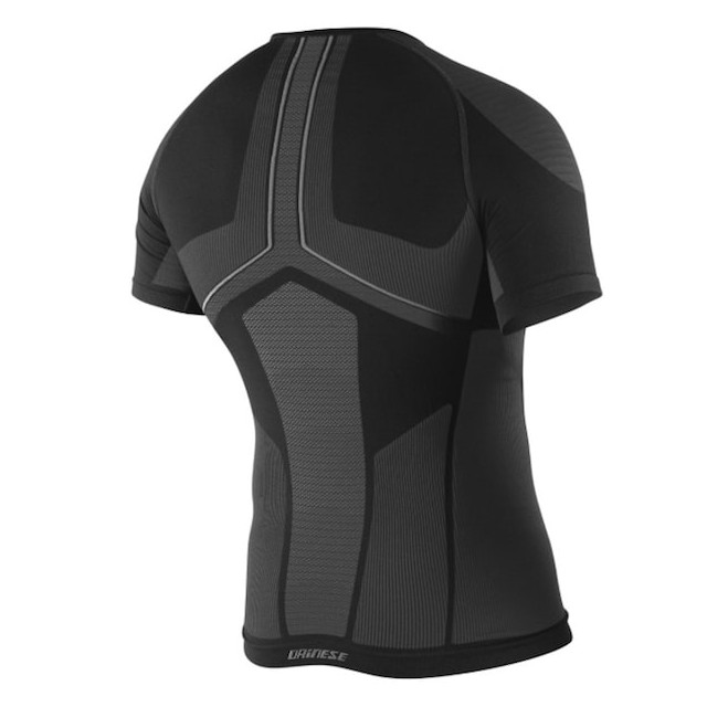DAINESE D-CORE DRY TEE SS BLACK ANTHRACITE - BACK