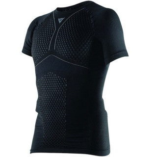 MAGLIA DAINESE D-CORE THERMO TEE SS- BLACK ANTHRACITE