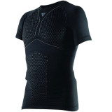 MAGLIA DAINESE D-CORE THERMO TEE SS - BLACK ANTHRACITE