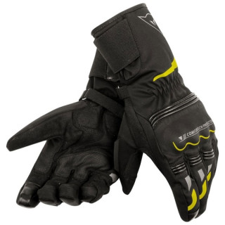 DAINESE TEMPEST UNISEX D-DRY LONG GLOVES - YELLOW