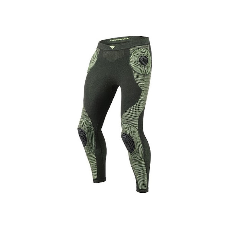 DAINESE D-CORE ARMOR PANT LL- BLACK FLUO YELLOW