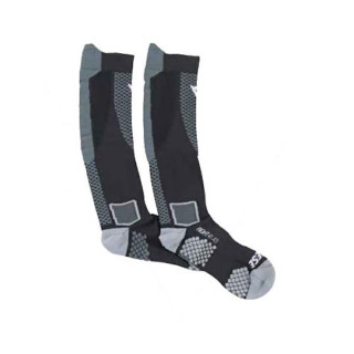 DAINESE D-CORE HIGH SOCK- BLACK RED