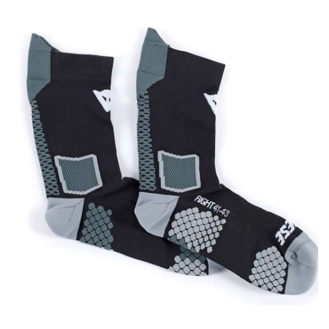 DAINESE D-CORE MID SOCK - BLACK ANTHRACITE