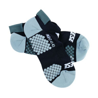 CALZE DAINESE D-CORE FOOTIE SOCK- BLACK ANTHRACITE