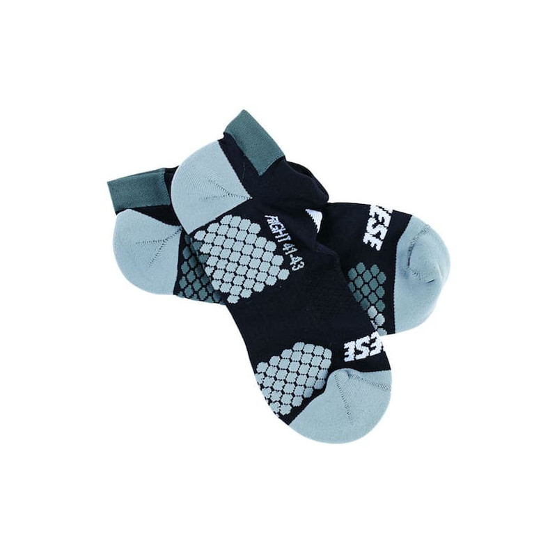 DAINESE D-CORE FOOTIE SOCK- BLACK ANTHRACITE
