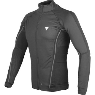 MAGLIA DAINESE D-CORE NO-WIND THERMO TEE LS- BLACK ANTHRACITE