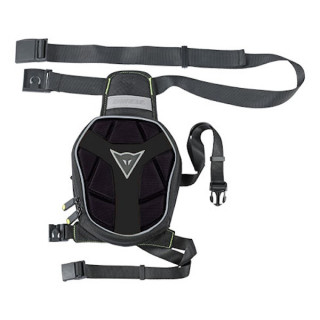 DAINESE D-EXCHANGE LEG BAG SMALL - BLACK