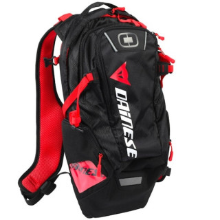 ZAINO DAINESE D-DAKAR HYDRATION BACKPACK - STEALTH BLACK