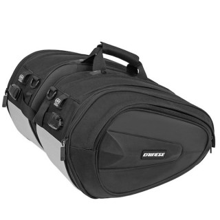 BORSE LATERALI DAINESE D-SADDLE MOTORCYCLE BAG - STEALTH BLACK
