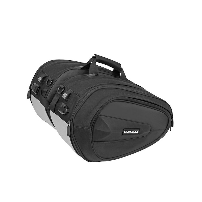 DAINESE D-SADDLE MOTORCYCLE BAG- STEALTH BLACK