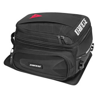 DAINESE D-TAIL MOTORCYCLE BAG- STEALTH BLACK
