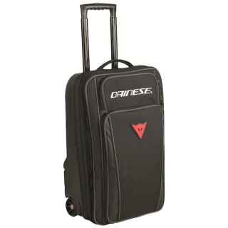 DAINESE D-CABIN WHEELED BAG - STEALTH BLACK