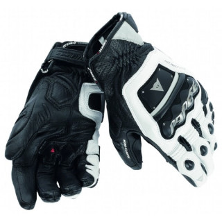 DAINESE 4 STROKE EVO GLOVES - BLACK WHITE