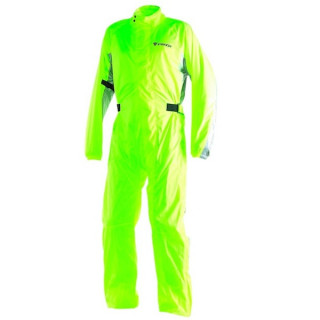 WATERPROOF DAINESE D-CRUST PLUS SUIT - FLUO YELLOW LIGHT ANTHRACITE