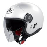 CASCO NOLAN N21 VISOR CLASSIC - METAL WHITE