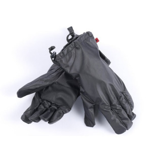 WATERPROOF DAINESE D-CRUST OVERGLOVES - BLACK