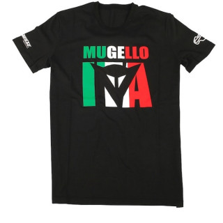 DAINESE MUGELLO D1 T-SHIRT - BLACK