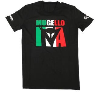 MAGLIA DAINESE MUGELLO D1 T-SHIRT- BLACK