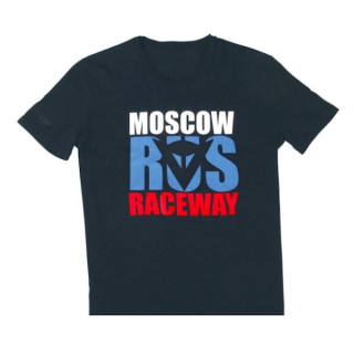 DAINESE MOSCOW D1 T-SHIRT - BLACK