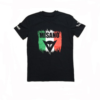 MAGLIA DAINESE MISANO D1 T-SHIRT - BLACK