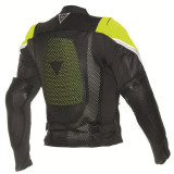 DAINESE SPORT GUARD BLACK FLUO YELLOW - BACK