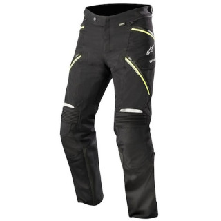ALPINESTARS BIG SUR GORE-TEX PRO PANTS - BLACK YELLOW FLUO