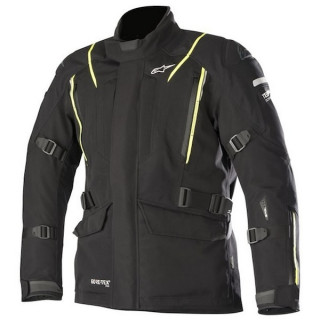 ALPINESTARS BIG SUR GORE-TEX TECH AIR PRO JACKET - BLACK YELLOW FLUO