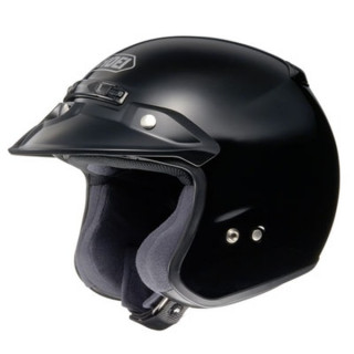 SHOEI RJ PLATINUM-R - BLACK