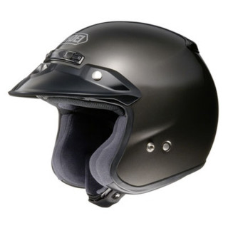 SHOEI RJ PLATINUM-R CANDY - ANTRACITE