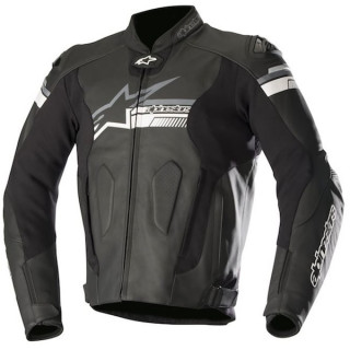 GIACCA ALPINESTARS FUJI LEATHER JACKET - BLACK