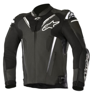 GIACCA ALPINESTARS ATEM v3 LEATHER JACKET - BLACK
