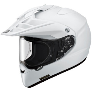 SHOEI HORNET ADV PLAIN - WHITE