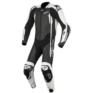 ALPINESTARS GP TECH v2 TECH-AIR LEATHER SUIT - BLACK WHITE